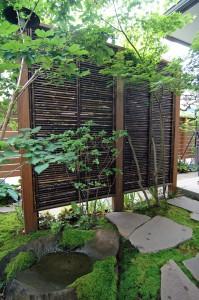 【実例:和風】東京都世田谷区I邸の庭