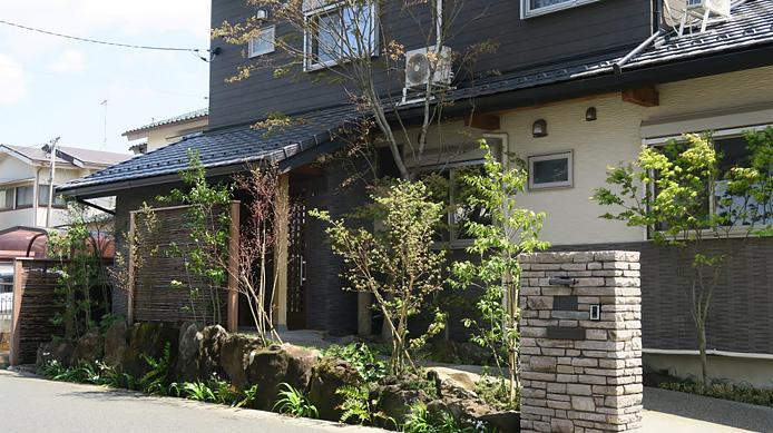 【実例:外構・エクステリア】神奈川県大和市M邸の庭