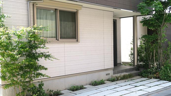 【実例:外構・エクステリア】東京都世田谷区K邸の庭