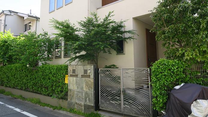 【実例:外構・エクステリア】東京都目黒区K邸の庭